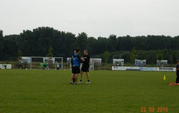Mannschaftstraining TuS Jahn Hilfarth (E-Jugend) 22.09.16